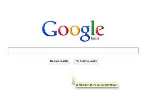 Google pays 'The Delhi braveheart' a tribute on India homepage | NDTV Gadgets | Blogger Tricks, Blog Templates, Widgets | Scoop.it