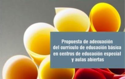 Propuesta de adecuación del currículo de educación básica en centros de educación especial y aulas abiertas   oriéntate   Scoop.it