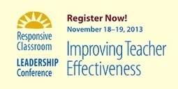 Strong Leadership Results in More Effective Teachers | Responsive Classroom | responsive classroom | Scoop.it