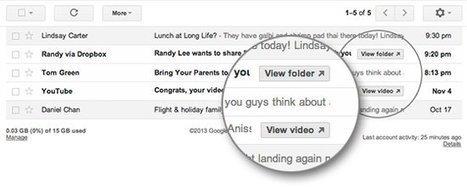 Gmail : bientôt un bouton pour se désinscrire automatiquement des newsletters | Entrepreneurs du Web | Scoop.it