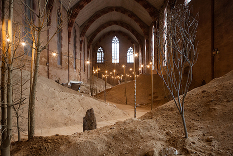 Artist Transforms French Gothic Church Into a Garden of Whispers | Le It e Amo ✪ | Scoop.it