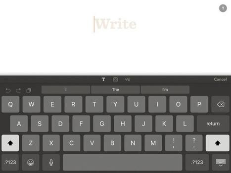 Paper se actualiza incorporando por fin una extensión para importar contenido | iPad classroom | Scoop.it