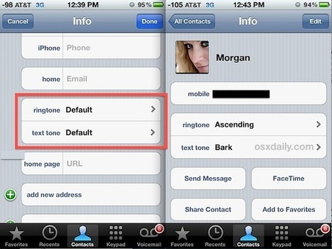 Assign Unique Ringtones to Contacts on iPhone to Know Who's Calling | OSXDaily | How to Use an iPhone Well | Scoop.it
