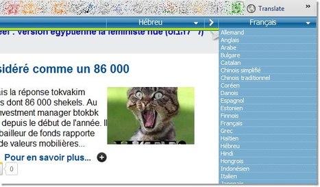 Traduction de page web avec microsofttranslator en un clic   Langues en ligne   Scoop.it