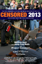 Top Censored Media Stories of 2012 | Gov and Law-McKinna | Scoop.it