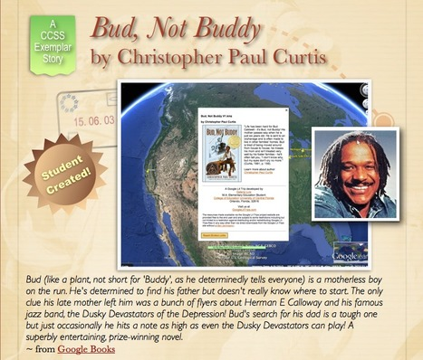 Bud, Not Buddy by Christopher Paul Curtis | Google Lit Trips: Reading About Reading | Scoop.it