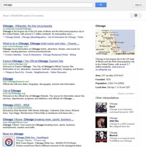 The Knowledge Graph | WEBOLUTION! | Scoop.it