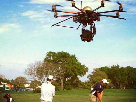 Golf Channel Is Using A Drone To Film Golfers - Business Insider | Stuff that Tweaks | Scoop.it