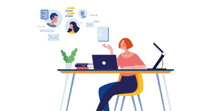 Le télétravail modifie les besoins des entreprises en matière de bureaux