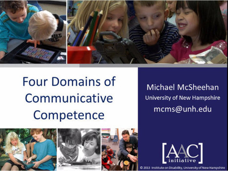 Video of the Week: Communicative Competence in AAC   AAC: Augmentative and Alternative Communication   Scoop.it