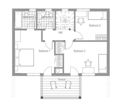 20 unique small house plans small home design ideas - Unique Small Home Plans