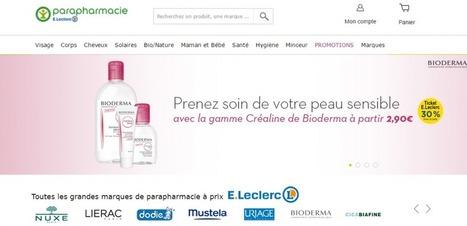 """Comment E.Leclerc entend contrer Amazon dans la parapharmacie   La pharmacie de demain sera-t-elle """"click & mortar""""?   Scoop.it"""