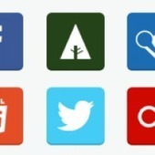 Free Flat Social Media Icons (PNG & PSD) | World of #SEO, #SMM, #ContentMarketing, #DigitalMarketing | Scoop.it