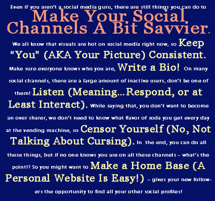 Five Ways to Make Your Social Channels Seem Savvier | CCC Social Media | Scoop.it