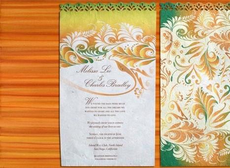 Wedding Invitations | Fabulous Weddings | Scoop.it