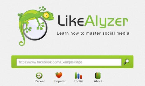 Analyze your Facebook page   Stratégie digitale et community management   Scoop.it