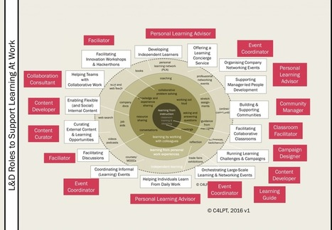 3 - L&D roles to support learning at work | Learning, Learning Technologies & Infographics - Interest Piques | Scoop.it
