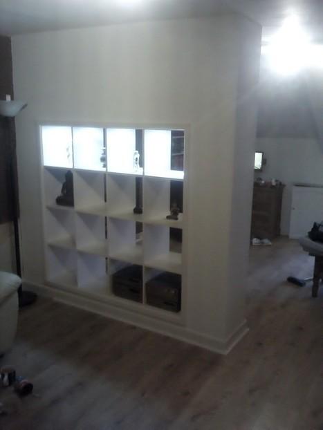 Expedit built in room divider | BricoService - Manutenzioni residenziali | Scoop.it