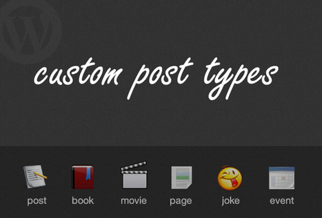 The Complete Guide To Custom Post Types   Lectures web   Scoop.it