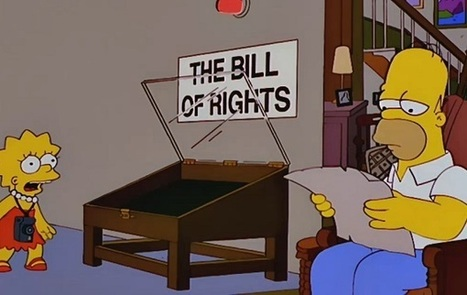 What we can learn about the Constitution from The Simpsons | U.S HISTORY SHACK : MIKE BUSARELLO | Scoop.it