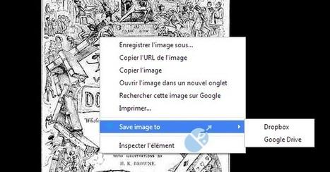 Sauvegarde des images et des liens url directement vers dropbox ou gdrive   netnavig   Scoop.it