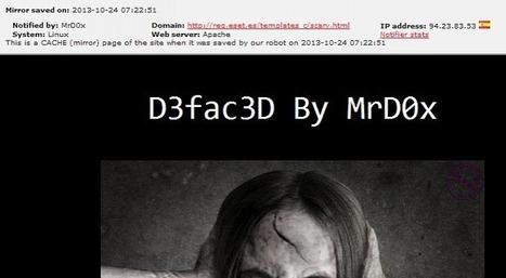 Website of ESET Distributor in Spain Hacked | Digital-News on Scoop.it today | Scoop.it