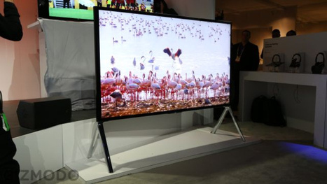 Sony's Brand New 4K TVs: No Gimmicks, Just Beautiful | Internet of Things - Company and Research Focus | Scoop.it