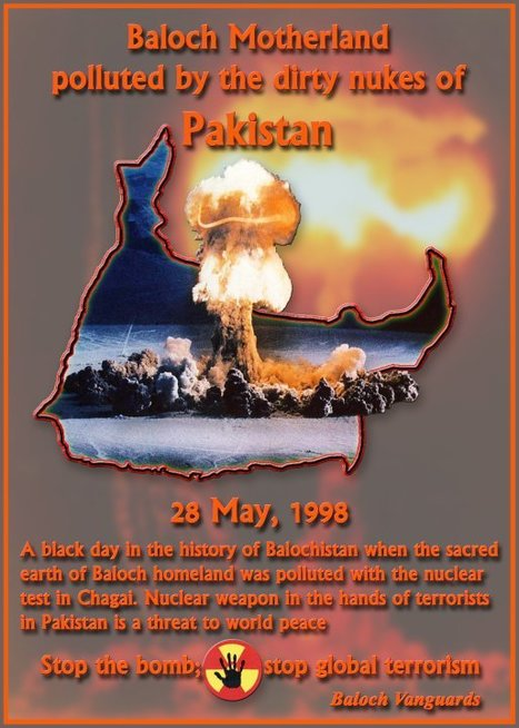 Stop Nuclear terrorists!  Stop Pakistan! | Human Rights and the Will to be free | Scoop.it