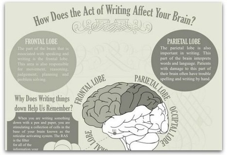 Infographic: How writing affects your brain | www.homeschoolsource.co.uk | Scoop.it