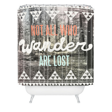 DENY Designs Wesley Bird Polyester Wander Shower Curtain | Motorhome Madness | Scoop.it