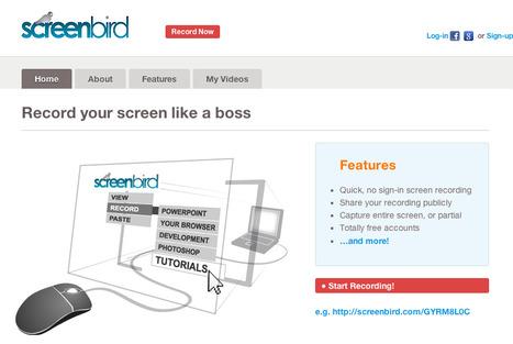 Screenbird - Free Sharable Screen Recording | Notícias TICXEDU | Scoop.it