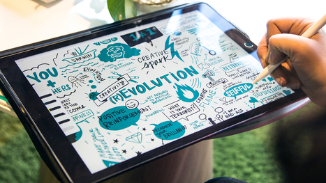7 Digital Tools for Visual Note-Taking - Ink Factory | Classe mapping , un nouveau magazine sur le mind mapping en classe | Scoop.it