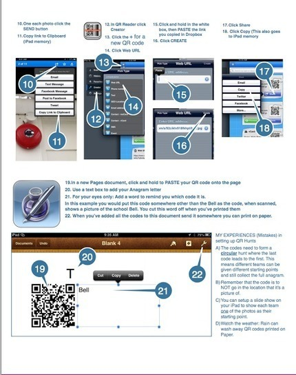 A Handy Visual on How Teachers Can Create and Use QR Code from iPad | ciberpocket | Scoop.it