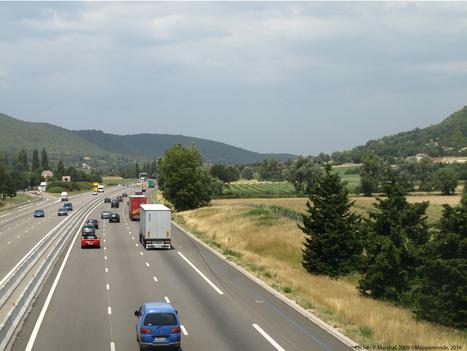 « Midi moins le quart » : passage en Drôme provençale par l'Autoroute du Soleil – M@ppemonde | Géographie : les dernières nouvelles de la toile. | Scoop.it