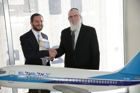 ELAL flies with Torah Live - Torah Live | Jewish Education Around the World | Scoop.it