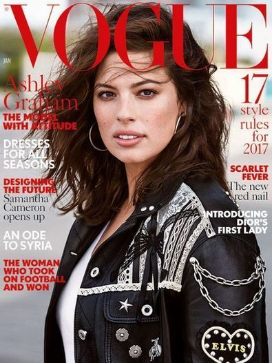 Ashley Graham : le top XXL à l'assaut de Vogue | A Voice of Our Own | Scoop.it