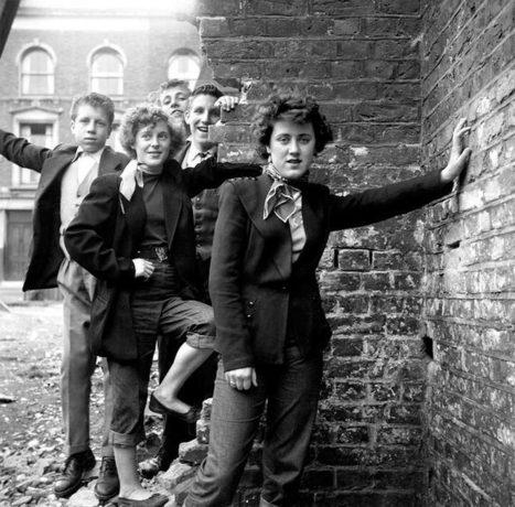 Girl Gangs – Des photos vintage des gangs de filles dans les années 50 | Jaclen 's photographie | Scoop.it