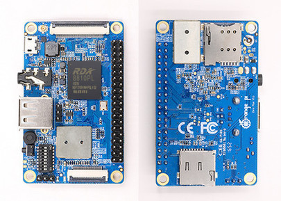Orange Pi Zero Plus Board Based on RDA8810PL Cortex A5 Processor to Support Bluetooth and GSM | Embedded Systems News | Scoop.it