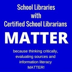 School Libraries with Certified School Librarians MATTER! | School Library Advocacy | Scoop.it