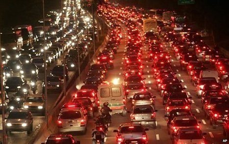 The city with 180km traffic jams | Connecting People & Places | Scoop.it