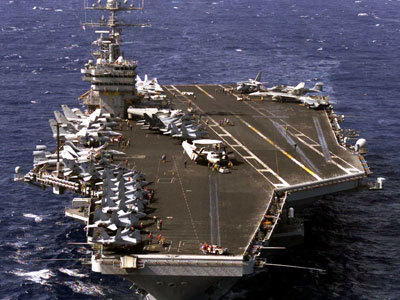 Thousands of US troops arrive near Syrian shore on USS Eisenhower — RT   Revolution News Syria   Scoop.it