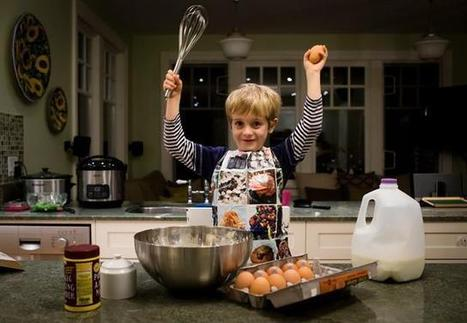 Want your children to grow up to be healthy adults? Teach them to cook | Guys, Dads, Husbands, Sons | Scoop.it