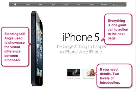 iPhone 5 – Learn Marketing From Todays Most Popular Landing Page | Landing Page World | Scoop.it