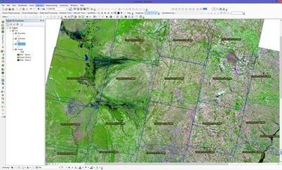 Dicas - Mosaico de Imagens Landsat-8 com Linha de Corte | ArcGIS Geography | Scoop.it