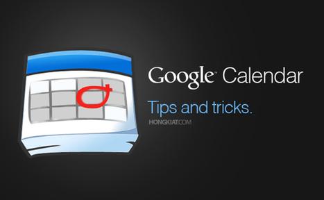 10 Tips To Get The Most Out of Google Calendar | Interneta rīki izglītībai | Scoop.it