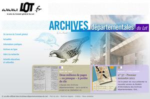 GénéInfos: Les archives du Lot sont en ligne   GenealoNet   Scoop.it