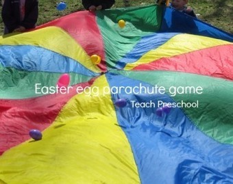 Easter egg parachute game | Teach Preschool | Scoop.it