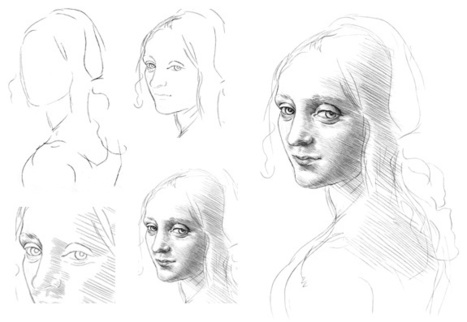 face drawing tutorial in drawing and painting tutorials
