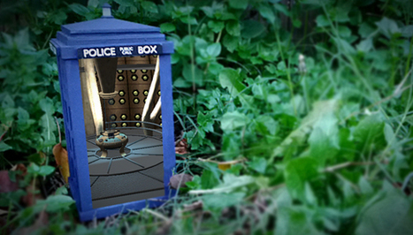 Augmented Reality TARDIS Really Is Bigger On The Inside   VI Geek Zone (GZ)   Scoop.it