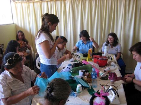 La asociación Fuente de Vida se une a la asociación FPANJEZ para desarrollar técnicas de terapia ocupacional   Actualité du monde associatif, du bénévolat, des ONG, et de l'Equateur   Scoop.it
